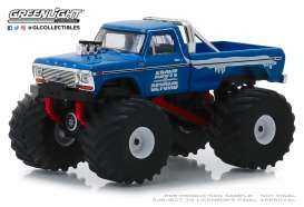 Ford  - F-250 Monster Truck blue/red - 1:64 - GreenLight - 49040C - gl49040C | The Diecast Company