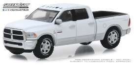 Ram  - 2500 Big Horn 2018 white/silver - 1:64 - GreenLight - 30048 - gl30048 | The Diecast Company