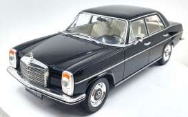Mercedes Benz  - 220D/8 W115 1972 black - 1:18 - MCG - 18116 - MCG18117 | The Diecast Company