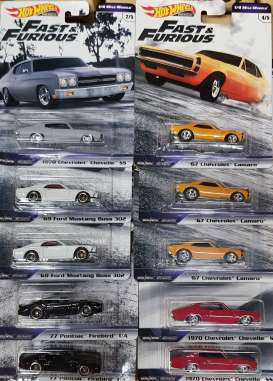 Assortment/ Mix  - various - 1:64 - Hotwheels - GBW75 - hwmvGBW75-956C | The Diecast Company