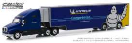 Kenworth  - T2000 blue/yellow - 1:64 - GreenLight - 30056 - gl30056 | The Diecast Company