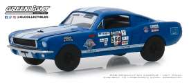 Shelby  - GT350 1965 blue - 1:64 - GreenLight - 13240B - gl13240B | The Diecast Company