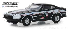 Datsun  - 260Z 1974 black/white - 1:64 - GreenLight - 13240E - gl13240E | The Diecast Company