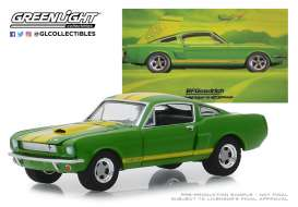 Shelby  - GT350 1966 green - 1:64 - GreenLight - 30060 - gl30060 | The Diecast Company