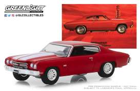 Chevrolet  - Chevelle 1970 red - 1:64 - GreenLight - 30061 - gl30061 | The Diecast Company