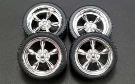 Rims & tires Wheels & tires - 1:18 - GMP - GMP18937 - gmp18937 | The Diecast Company
