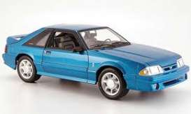 Ford  - Mustang Cobra 1993 teal - 1:18 - GMP - GMP18923 - gmp18923 | The Diecast Company