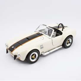 Shelby  - Cobra 427S/C 1964 cream/black - 1:18 - Lucky Diecast - 92058 - ldc92058cr | The Diecast Company
