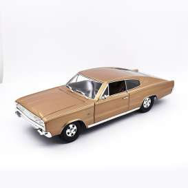 Dodge  - Charger 1966 brons - 1:18 - Lucky Diecast - 92638 - ldc92638bs | The Diecast Company