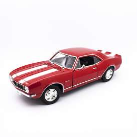 Chevrolet  - Camaro Z28 1968 red/white - 1:18 - Lucky Diecast - 92188 - ldc92188r | The Diecast Company