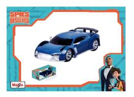 Audi  - E-Tron *Spies in Disguise* 2018 blue - 1:24 - Maisto - 81728 - mai81728b | The Diecast Company