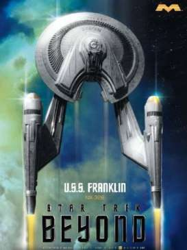 Star Trek  - U.S.S. Franklin 2018  - 1:350 - Moebius - 975 - moes975 | The Diecast Company