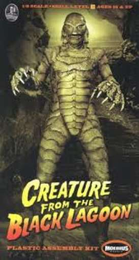 Creature From the Black Lagoon Figures - 1:8 - Moebius - 971 - moes971 | The Diecast Company