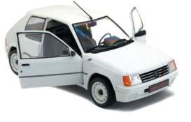 Peugeot  - 205 Rally white - 1:18 - Solido - 1801701 - soli1801701 | The Diecast Company
