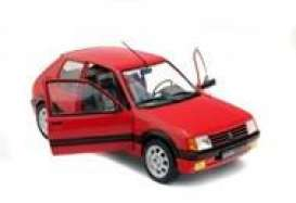 Peugeot  - 205 GTI red - 1:18 - Solido - 1801702 - soli1801702 | The Diecast Company
