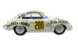 Porsche  - 356 1953 white/black - 1:18 - Solido - 1802801 - soli1802801 | The Diecast Company
