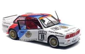 BMW  - M3  1989 white/red/blue - 1:18 - Solido - 1801503 - soli1801503 | The Diecast Company