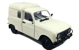 Renault  - 4 LF4 1975 white - 1:18 - Solido - 1802201 - soli1802201 | The Diecast Company