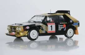 Lancia  - Delta S4 1986 black/gold - 1:18 - Solido - 1800810 - soli1800810 | The Diecast Company