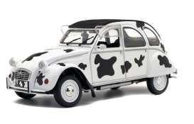 Citroen  - 2CV6 1985 white/black - 1:18 - Solido - 1850028 - soli1850028 | The Diecast Company