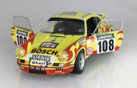 Porsche  - 911 RSR 1973 yellow/red - 1:18 - Solido - 1801109 - soli1801109 | The Diecast Company