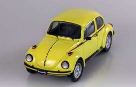 Volkswagen  - Beetle 1974 yellow - 1:18 - Solido - 1800511 - soli1800511 | The Diecast Company