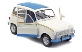 Renault  - 4L 1981 white/blue - 1:18 - Solido - 1800105 - soli1800105 | The Diecast Company