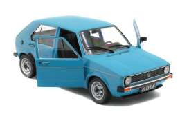 Volkswagen  - Golf 1983 blue - 1:18 - Solido - 1800208 - soli1800208 | The Diecast Company