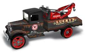 Ford  - Tow Truck *Texaco* 1931 black/brown - 1:34 - Auto World - CP7515 - AWCP7515 | The Diecast Company