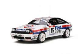 Toyota  - Celica 1991 white/red/blue - 1:18 - OttOmobile Miniatures - 727 - otto727 | The Diecast Company