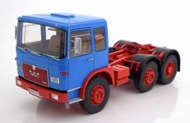 MAN  - 16304 F7 1972 blue/red - 1:18 - Road Kings - 180051 - rk180051 | The Diecast Company