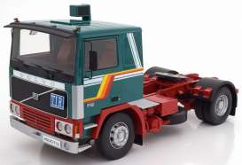 Volvo  - F12 1972 green/white/red - 1:18 - Road Kings - 180032 - rk180032 | The Diecast Company