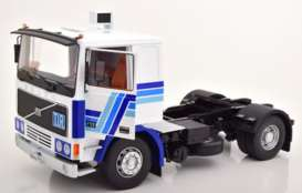 Volvo  - F12 1972 white/blue - 1:18 - Road Kings - 180033 - rk180033 | The Diecast Company