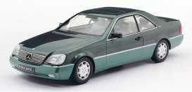 Mercedes Benz  - 600 SEC 1992 green metallic - 1:18 - KK - Scale - 180343 - kkdc180343 | The Diecast Company