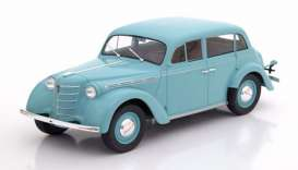 Opel  - Kadett K38 1938 light turquoise - 1:18 - KK - Scale - 180252 - kkdc180252 | The Diecast Company