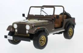 Jeep  - CJ-7 Golden Eagle 1976 dark brown metallic - 1:18 - MCG - 18109 - MCG18109 | The Diecast Company