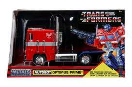 Transformers  - Optimus Prime red - 1:24 - Jada Toys - 99524 - jada99524 | The Diecast Company