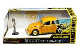 Transformers  - Bumblebee yellow - 1:24 - Jada Toys - 30114 - jada30114 | The Diecast Company