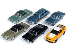 Assortment/ Mix  - various - 1:64 - Auto World - 64212B - AW64212B | The Diecast Company