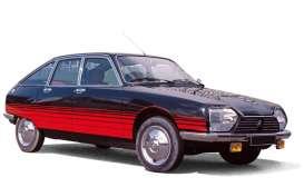 Citroen  - GS *Basalte* 1978 black/red - 1:18 - Norev - 181626 - nor181626 | The Diecast Company