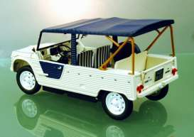 Citroen  - Mehari Azur 1983 white/blue - 1:18 - Norev - 181516 - nor181516 | The Diecast Company