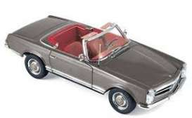 Mercedes Benz  - 230 SL 1963 antracite - 1:18 - Norev - 183498 - nor183498 | The Diecast Company