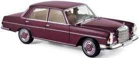 Mercedes Benz  - 230 SL 1968 dark red - 1:18 - Norev - 183431 - nor183431 | The Diecast Company