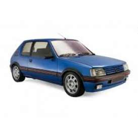 Peugeot  - 205 GTi 1.9 1992 blue - 1:18 - Norev - 184856 - nor184856 | The Diecast Company