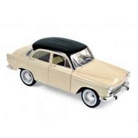 Simca  - Aronde 1961 ivory/black - 1:18 - Norev - 185716 - nor185716 | The Diecast Company