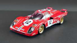 Ferrari  - 512M #12 1971 red/white - 1:18 - Acme Diecast - M1801002 - acmeM1801002 | The Diecast Company