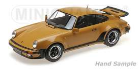Porsche  - 911 Turbo 1977 tan - 1:12 - Minichamps - 125066113 - mc125066113 | The Diecast Company