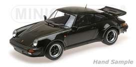 Porsche  - 911 Turbo 1977 olive - 1:12 - Minichamps - 125066122 - mc125066122 | The Diecast Company