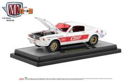 Ford  - Mustang 1965 white/red - 1:24 - M2 Machines - 40300-68A - M2-40300-68A | The Diecast Company