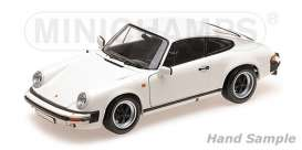 Porsche  - 911 Carrera 1983 white - 1:18 - Minichamps - 100063024 - mc100063024 | The Diecast Company